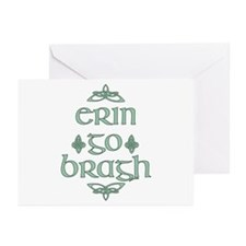 Erin go bragh Greeting Cards (Pk of 20)