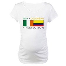 Irish Colombian heritage flag Shirt