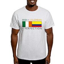 Irish Colombian heritage flag T-Shirt