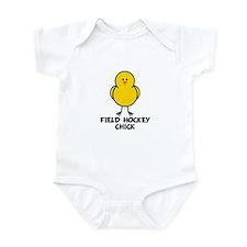 Field Hockey Chick Infant Bodysuit