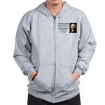 George Washington 5 Zip Hoodie
