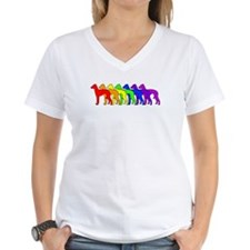 Rainbow Italian Greyhound Shirt