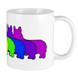 Rainbow Pembroke Coffee Mug