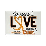 Needs A Cure 2 MULTIPLE SCLEROSIS Rectangle Magnet