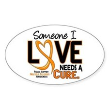 Needs A Cure 2 MULTIPLE SCLEROSIS Oval Decal