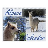 Alpaca Wall Calendar