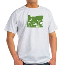 Green Oregon T-Shirt