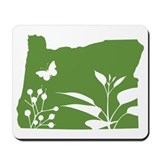 Green Oregon Mousepad