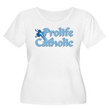 Prolife Catholic Cross T-Shirt