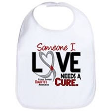 Needs A Cure 2 DIABETES Bib