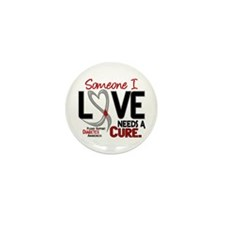 Needs A Cure 2 DIABETES Mini Button (10 pack)