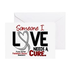 Needs A Cure 2 PARKINSONS Greeting Card
