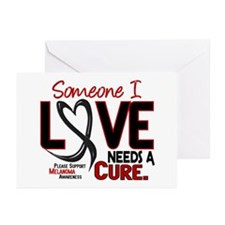 Needs A Cure 2 MELANOMA Greeting Cards (Pk of 10)