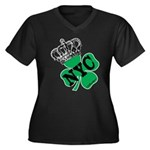 NYC Pubcrawl St. Patricks Day Women's Plus Size V-
