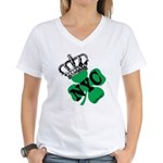 NYC Pubcrawl St. Patricks Day Women's V-Neck T-Shi