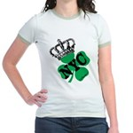 NYC Pubcrawl St. Patricks Day Jr. Ringer T-Shirt