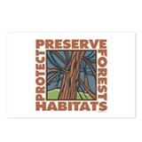 Preserve Forest Habitats Postcards (Package of 8)