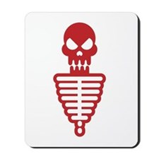 Skelly Tin Man Mousepad