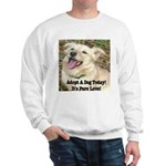 Adopt A Dog Today! Sweatshirt