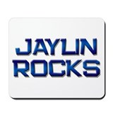 jaylin rocks Mousepad