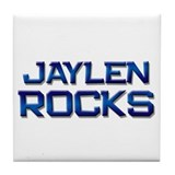 jaylen rocks Tile Coaster