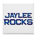 jaylee rocks Tile Coaster