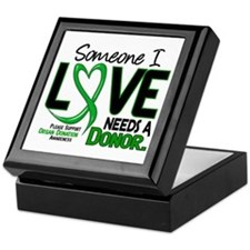 Needs A Donor 2 ORGAN DONATION Keepsake Box