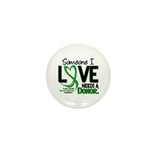 Needs A Donor 2 ORGAN DONATION Mini Button (10 pac