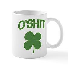 O'Shit Irish Shamrock Mug