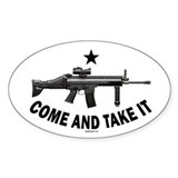 Come and Take It (2) Oval Decal