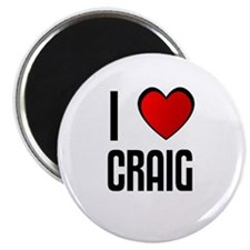 "I LOVE CRAIG 2.25"" Magnet (10 pack)"