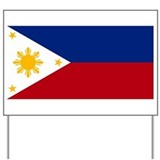 Philippine Flag Yard Sign