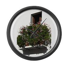 Spanish Balcony Large Wall Clock
