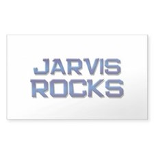 jarvis rocks Rectangle Stickers