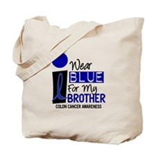 I Wear Blue For My Brother 9 CC Tote Bag