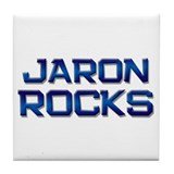 jaron rocks Tile Coaster