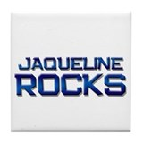 jaqueline rocks Tile Coaster