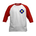 Blue Owls Amulet Kids Baseball Jersey
