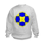 Blue Owls Amulet Kids Sweatshirt