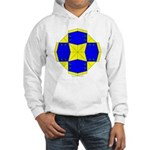 Blue Owls Amulet Hooded Sweatshirt