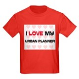 I Love My Urban Planner T