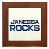 janessa rocks Framed Tile