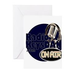 Radio KeysDAN Logo Greeting Cards (Pk of 10)