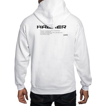Hacker Hooded Sweatshirt