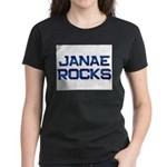 janae rocks Women's Dark T-Shirt