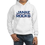 janae rocks Hooded Sweatshirt