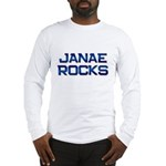 janae rocks Long Sleeve T-Shirt