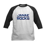 janae rocks Kids Baseball Jersey