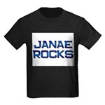 janae rocks Kids Dark T-Shirt