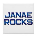 janae rocks Tile Coaster